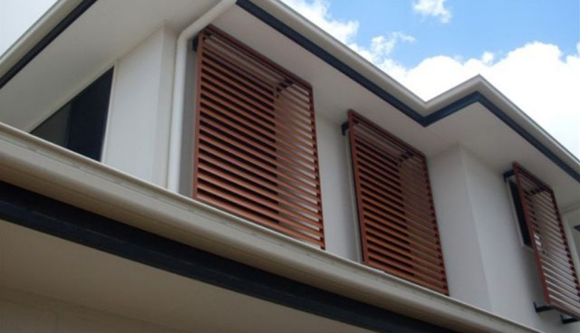 Fixed Screen Shutters Brisbane Shade Services